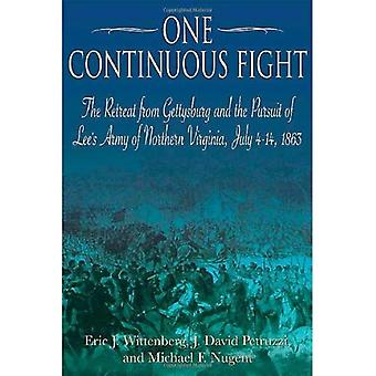 One Continuous Fight: The Retreat from Gettysburg and the Pursuit of Lees Army of Northern Virginia, July 4-14, 1863