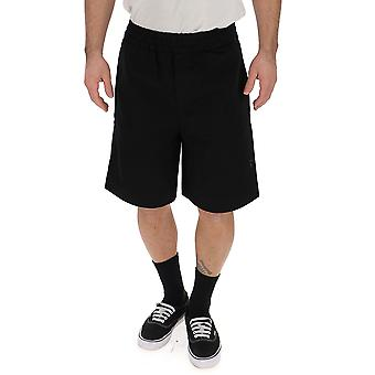 Acne Studios Black Cotton Shorts