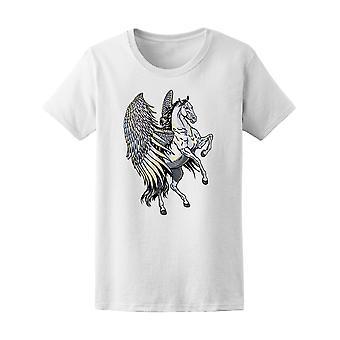 Amazing mythische wit Pegasus Tee mannen-beeld door Shutterstock
