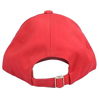 Replay Cotton Stitched Logo Red Cap
