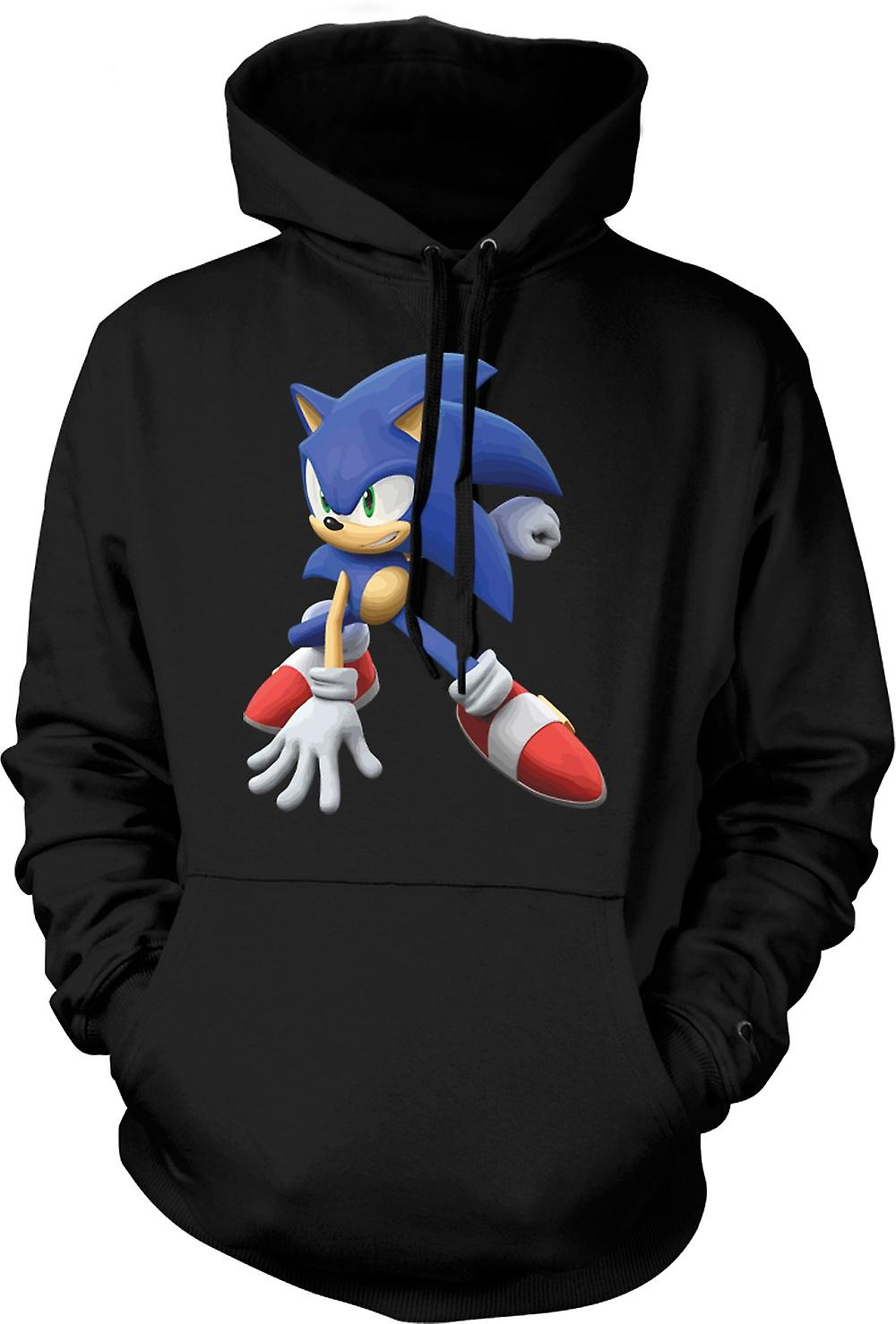 Mens Hoodie - Sonic The Hedgehog - Gamer