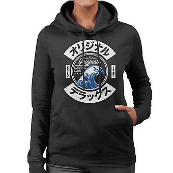Divide & Conquer Japan Wave Surfing Club Women's Hooded Sweatshirt
