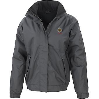 Royal Dragoon guardas veterano-licenciado British Army jaqueta impermeável bordado com velo interior