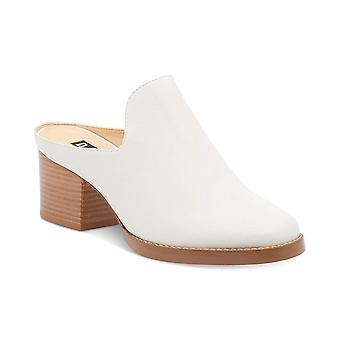 DKNY Womens Dkny Leather Closed Toe Mules