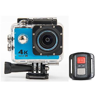 Hd 4k wifi action camera 1080p 60fps mini cam 30m waterproof go sport dvr extreme pro cam blue