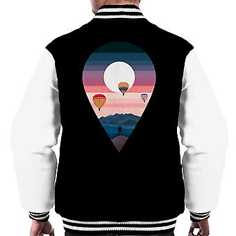 Landscape Balloon Men's Varsity Jacket