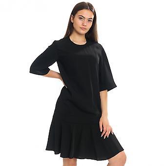 Calvin Klein Calvin Klein sileä twill Layer SLV naisten Lyhythihainen mekko