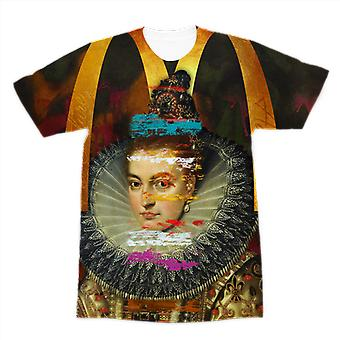 T-shirt adulte de sublimation de prime de couture