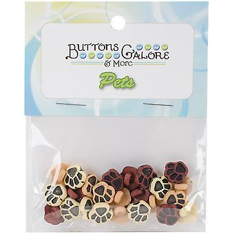 Button Theme Pack-Little Paws BTP-4120