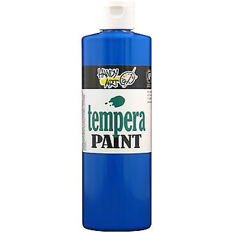 Handy Art Tempera Paint 16 Ounces Blue 201 030
