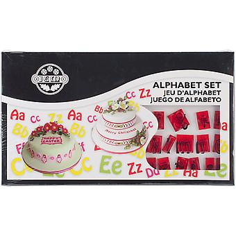 Plastic Cutter Set 64Pc Lower And Uppercase Alphabet 106M001