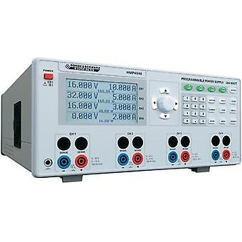 Bench PSU (adjustable voltage) Rohde & Schwarz HMP4040 0 - 32 Vdc 0 - 10 A 384 W USB , RS232, Interface (optional) progr