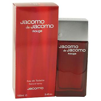 Jacomo De Jacomo Rouge By Jacomo Edt Spray 100ml