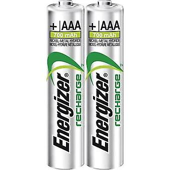 AAA battery (rechargeable) NiMH Energizer Power Plus 700 mAh 1.2 V 2 pc(s)