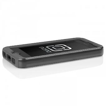 Incipio IPH-876 dual PRO shine protection sleeve cover case for iPhone 5 / 5s - silver/grey