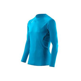 SKINS Men's NCG 360 LS Tech Shirt Process blue - A87128468