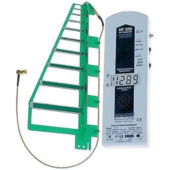 Gigahertz Solutions HF 32D High frequency (HF)-Analyser, Electric smog meter, 800 MHz - 2.5 GHz, includes GSM-mobile rad