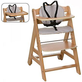 Hauck Natural Beta + Highchair