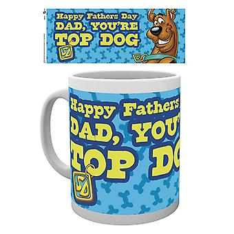Scooby Doo Fathers Day Mug Top Dog Mug