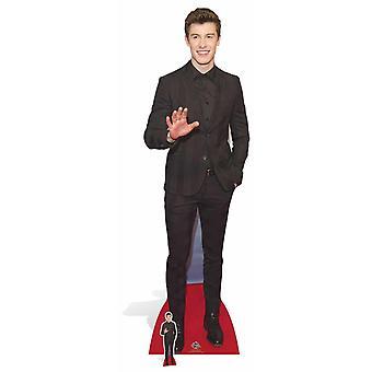 Shawn Mendes Lifesize pap påklædningsdukke / Standee / Standup