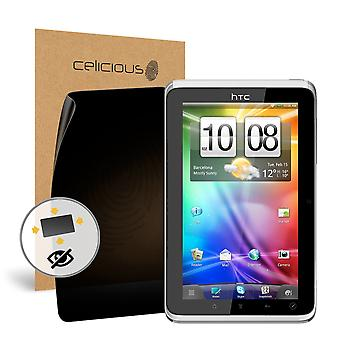 Celicious Privacy Plus HTC Flyer 4-Way Visual Black Out Screen Protector
