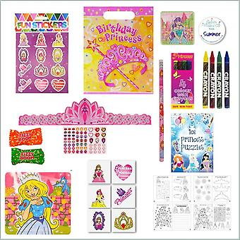 Princess Party Bag - Just Fill Ready to Make - with FREE Sweets