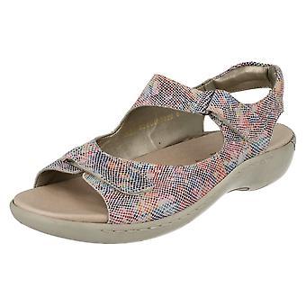 Ladies remonten kardborrband sandaler R8565