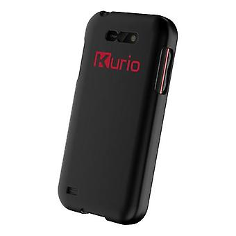Kurio Hard Protective Case for Kurio Smartphones Black/Red (C14958)