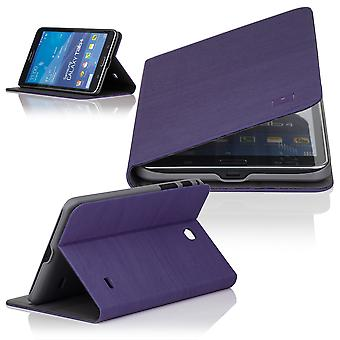 Slim Angle cover case for Samsung Galaxy Tab 4 T230 (7 inch) - Purple