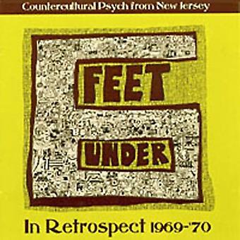 Seks fødder Under - set i bakspejlet 1969-70 [CD] USA importerer