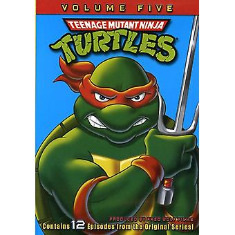Teenage Mutant Ninja Turtles: Season 5 [DVD] USA import