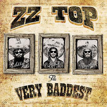 ZZ Top - mycket Baddest [CD] USA import