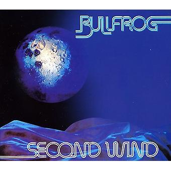 Bullfrog - Second Wind [CD] USA importerer