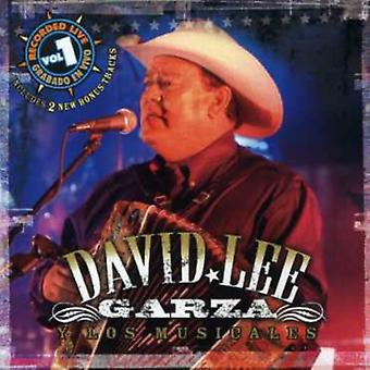 David Lee Garza - David Lee Garza: Vol. 1-Recorded Live [CD] USA import