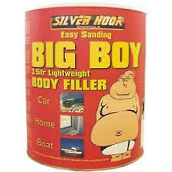 Silverhook Big Boy Body Filler Paste for Paint and Dent Scratch Smart Repair for Car and Boat Paintshops in 3500 ml