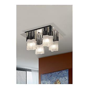 Lámpara de techo Schuller Flor 4L