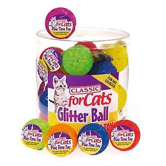 Classic For Pets Shiny Ball With Cascabel 1  (35mm), Box 24U (Price / U)