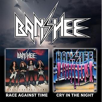 Banshee - Race mod tiden / græde i nat [CD] USA importen
