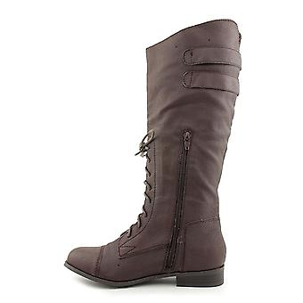 American Rag Women's Saddle Mid Calf Boots in Brown