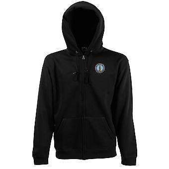 Army National Guard Embroidered Logo - Zipped Hoodie Jacket