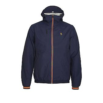LUKE SPORT Sir Walter Sport Zip Through Tech Jacket | Lux Navy