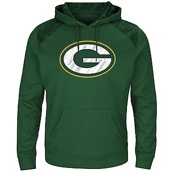 Majestic ARMOR athletic Hoody - Green Bay Packers Green