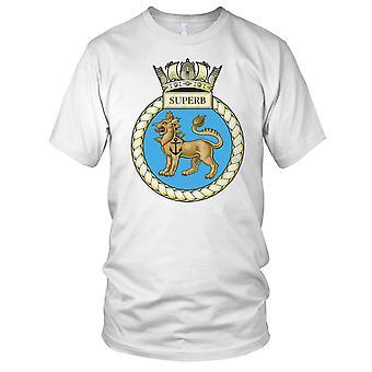 Royal Navy HMS Superb Kids T Shirt