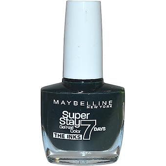 Maybelline Super Stay 7 Days Gel Nail Colour 10ml Emerald Excess #869