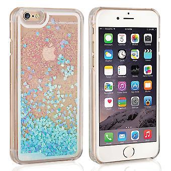 Caseflex iPhone 6 i 6s Quicksand skali Hard Case - niebieski