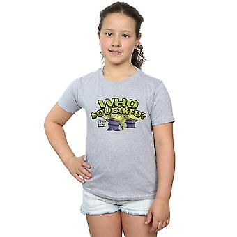 Disney Girls Toy Story Who Squeaked? T-Shirt