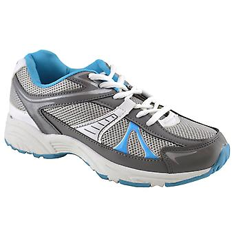 Ladies Womens Gym Running Jogger Sports Athletics Lace Up Trainers Shoe