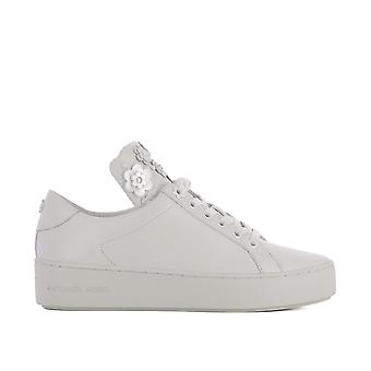 Michael Kors women's 43S8MNFS3L085 White leather of sneakers