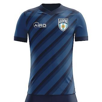 07970d930 2018-2019 Argentina Away Concept Football Shirt