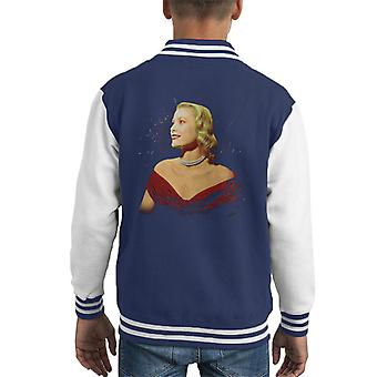 Grace Kelly Interview mit Donald Zec Cannes Film Festival 1955 Kid Varsity Jacket